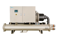 DX Water cooled screw chiller-system