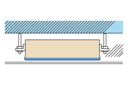 Double-skin drainage pan