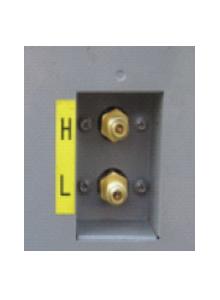 External Pressure Gauge Ports
