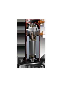 High efficiency scroll compressor
