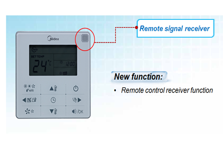 Remote signal receiving function