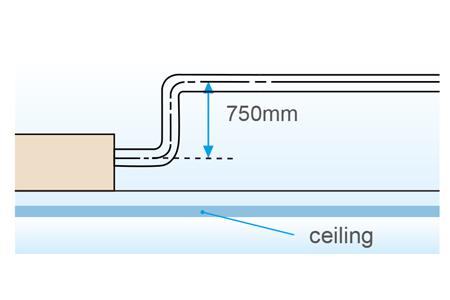 Standard drain pump