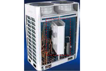 Rotatable electric control box
